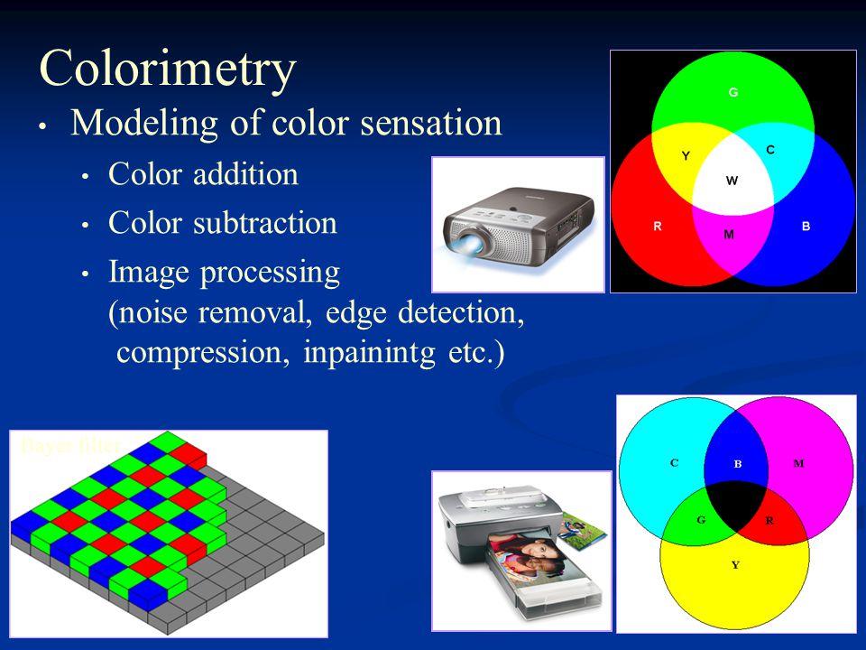 מערכות ראיה ושמיעה Visual and Auditory Systems  Spectrum