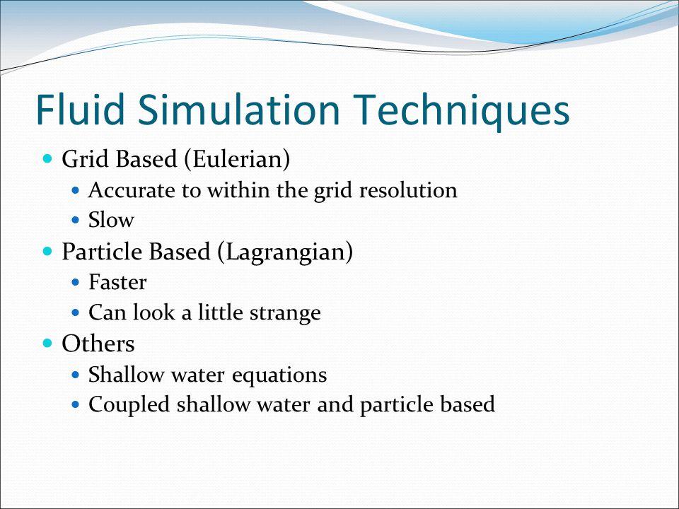 Simulating Liquid Sound Will Moss Hengchin Yeh  Part I