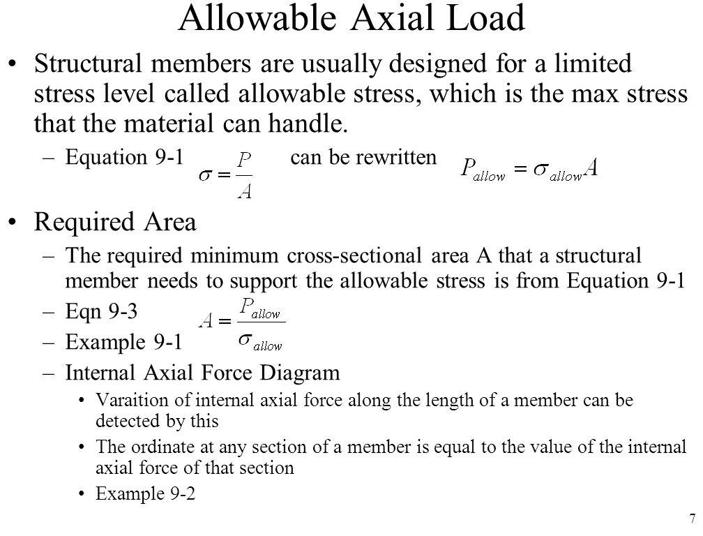 1 Cm 197 Mechanics Of Materials Chap 9 Strength Of Materials Simple