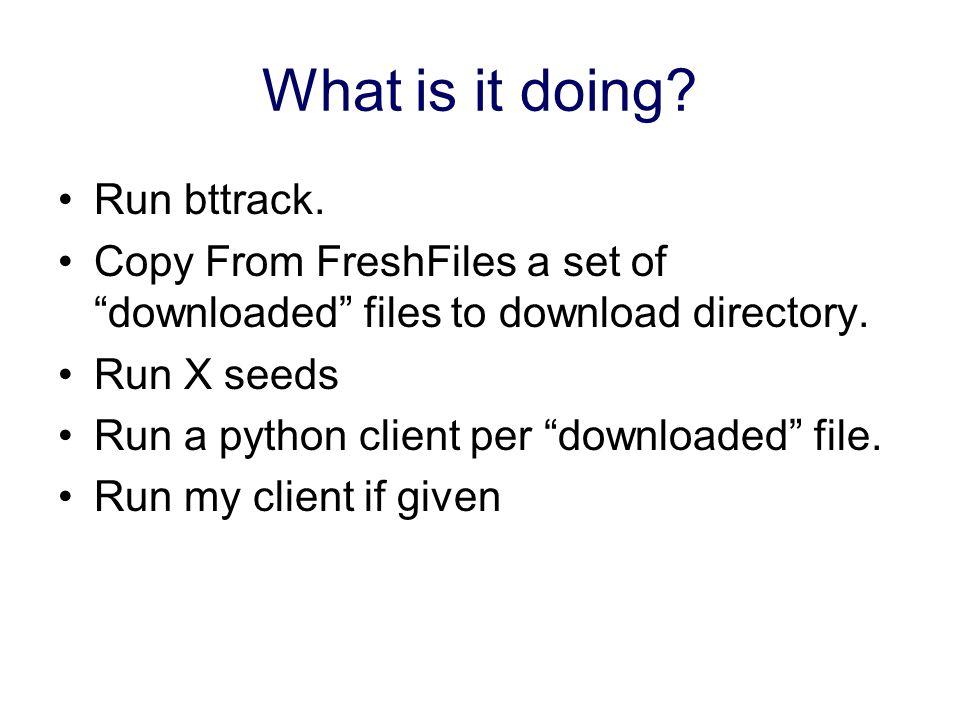 VoD BitTorrent Framework  Background BT is a very popular
