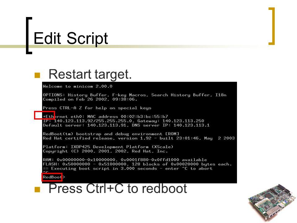 Install MontaVista™ Linux® PE 3 1 on ADI® Coyote IXP425