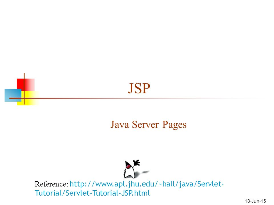 Jsp and servlet tutorial: servlet basics.