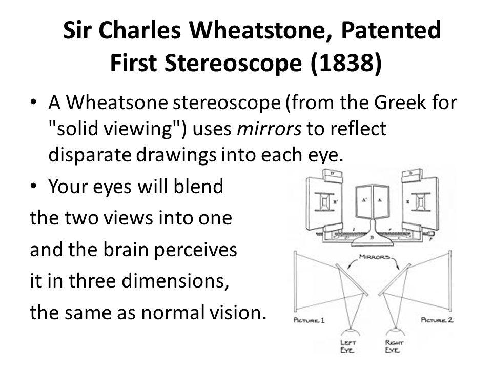 The History of Stereoscopic Viewing Sabra Baran Professor