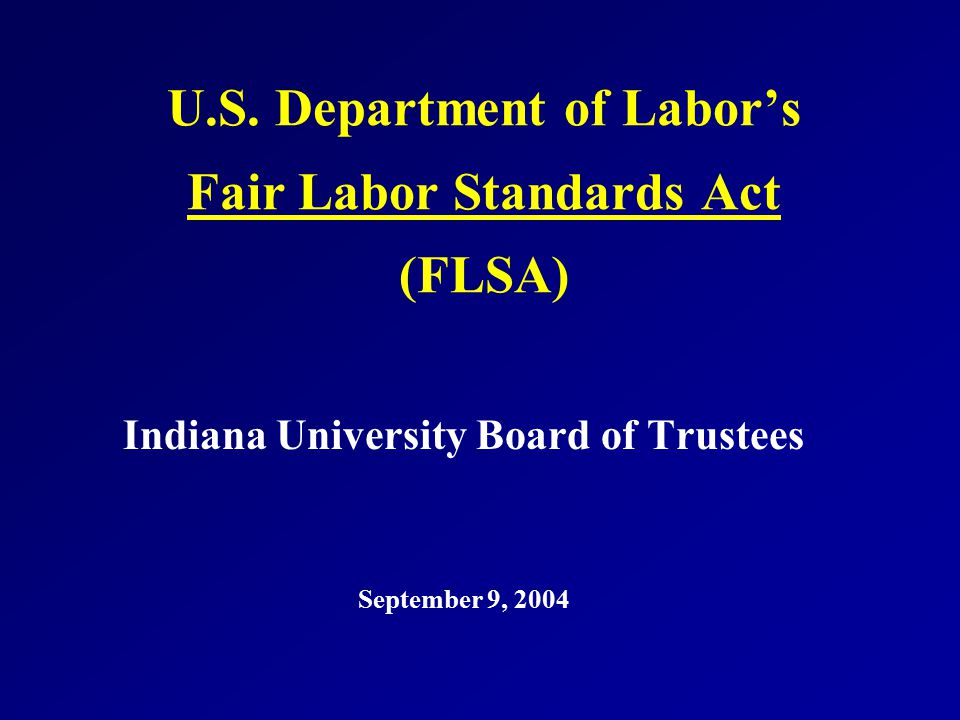 """what is the fair labor standards The fair labor standards act says that employees can be exempt from overtime if they perform executive, administrative or professional duties, but the rule """"creates essentially a de facto salary."""