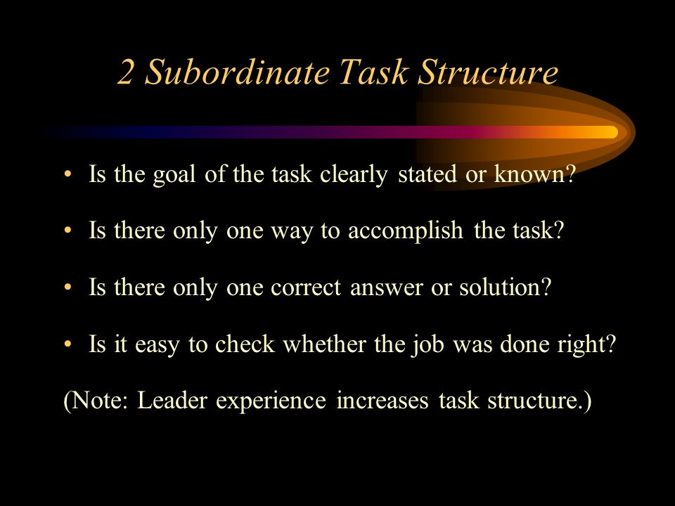 subordinate leadership Subordinates sometimes make it extremely difficult for their bosses to be good leaders executives who fail to understand the forces at play may find their careers in jeopardy advertisement.