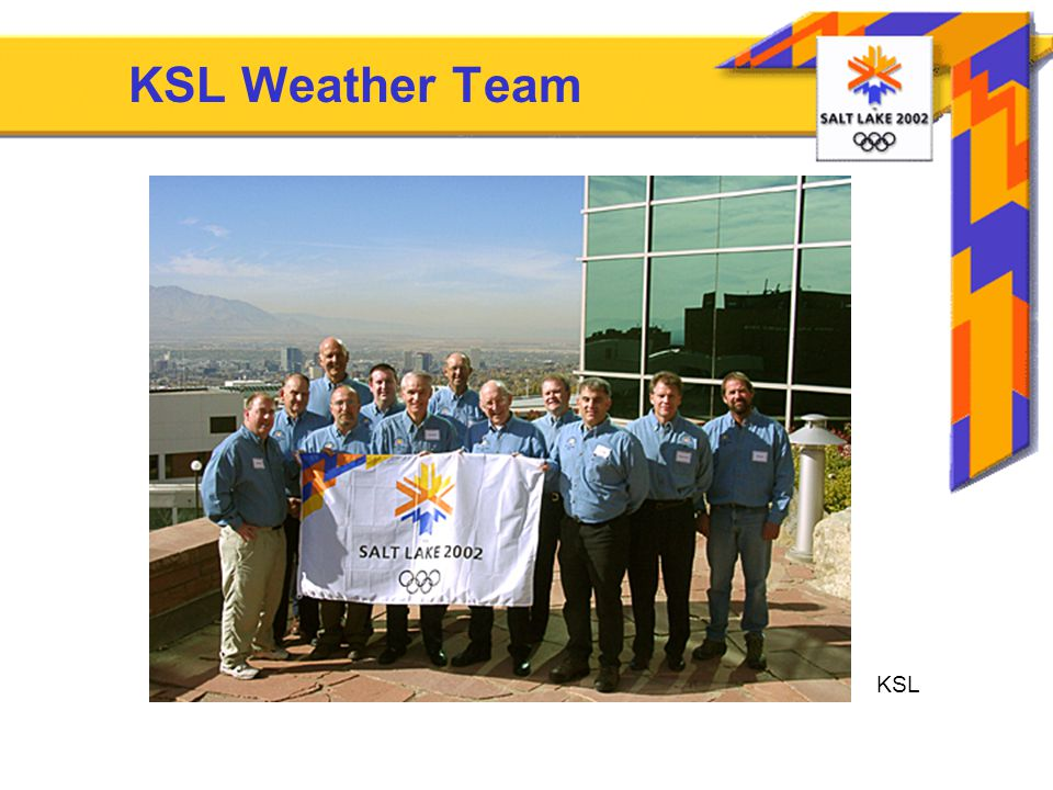 Weather Support for the 2002 Olympic and Paralympic Games Dr  Tom