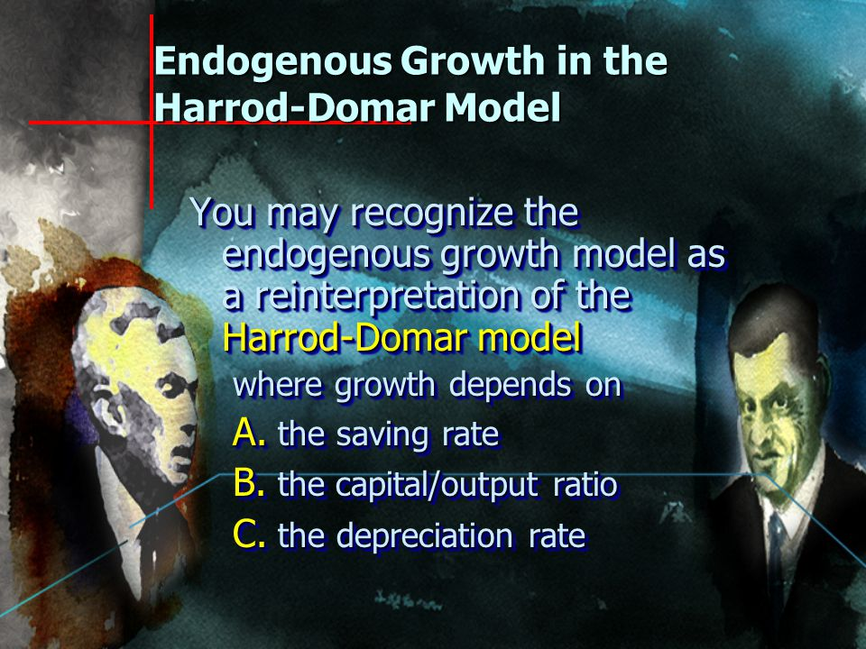 The New Theory of Endogenous Economic Growth Traces the rate of growth of output per capita to three main sources: SavingEfficiencyDepreciation The proximate causes of economic growth are the effort to economize, the accumulation of knowledge, and the accumulation of capital. W.