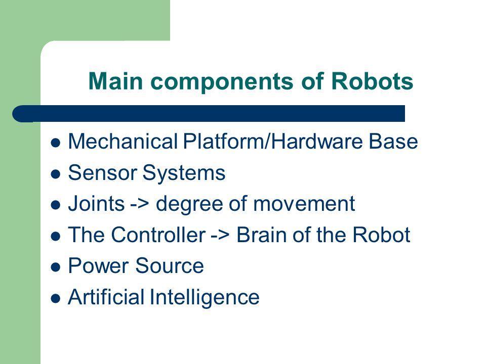 Intelligent Robotics Project A Customized Alice By Anupama