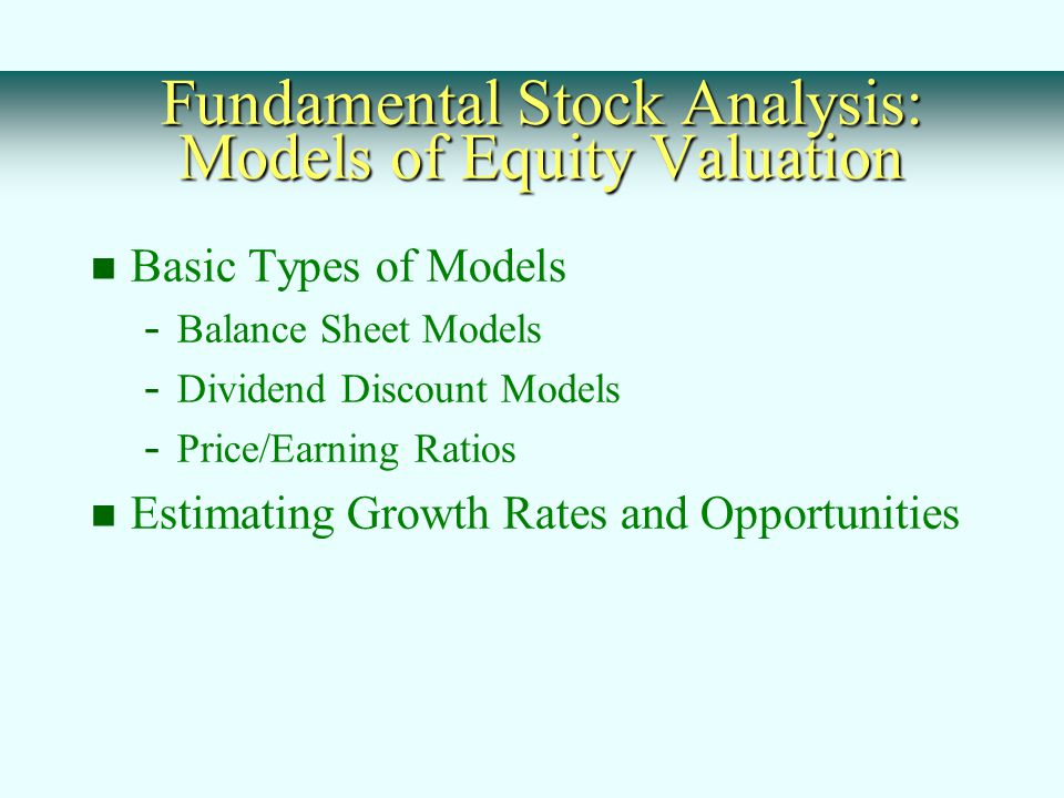 Chapter 8 stock valuation. Ppt video online download.
