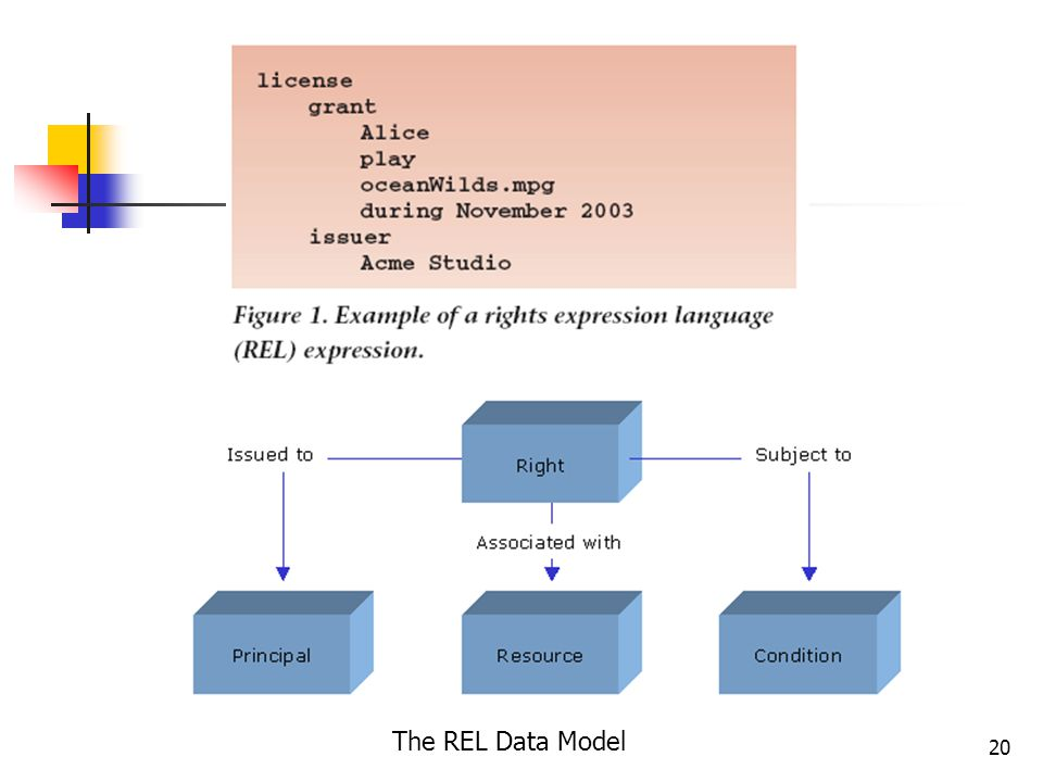 20 The REL Data Model