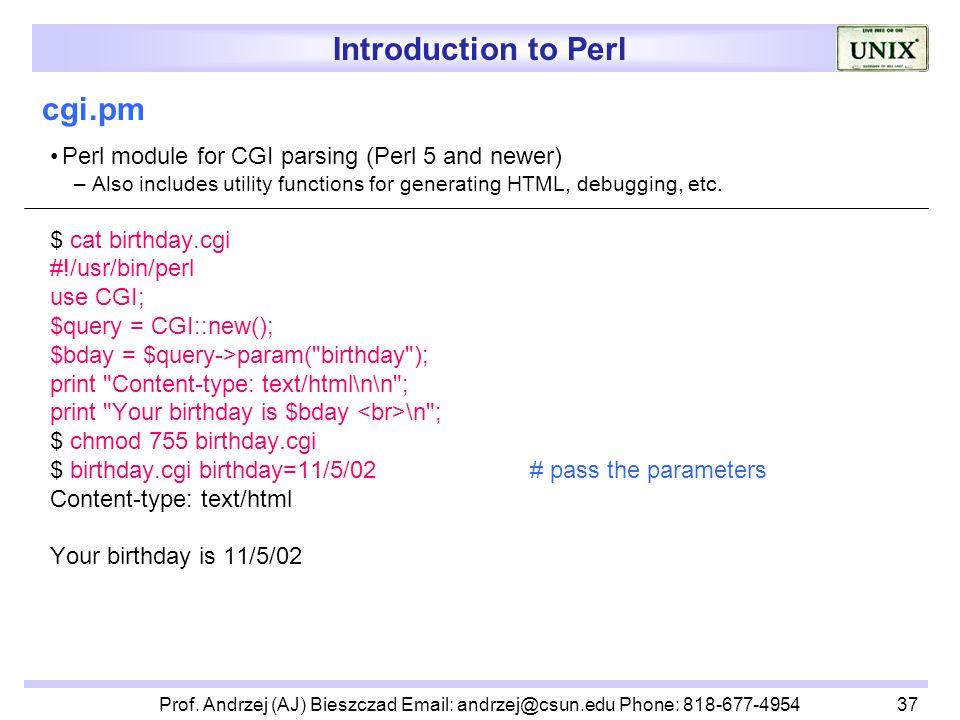 Perl Cgi Tutorial Pdf