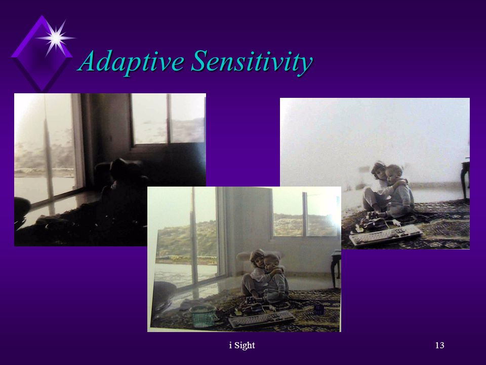 i Sight12 Adaptive Sensitivity