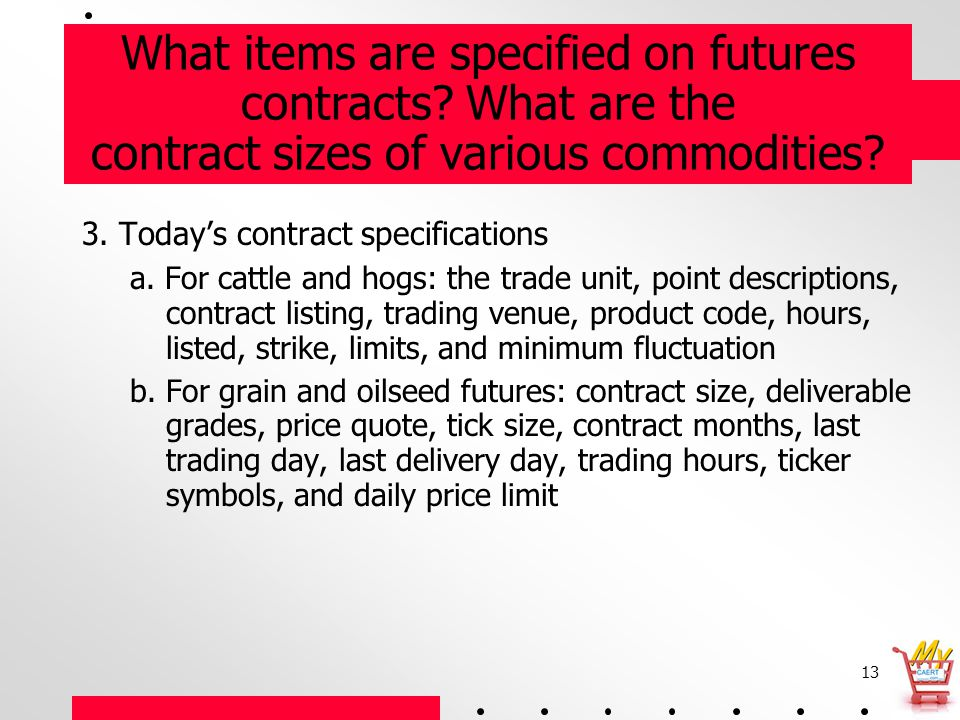 1 Agribusiness Library Lesson The Futures Market Part Ppt Download