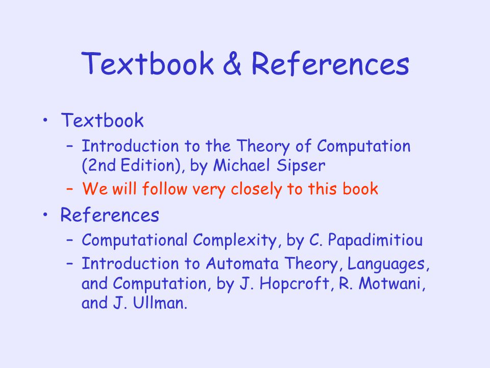 Theory Of Computation By Michael Sipser Ebook