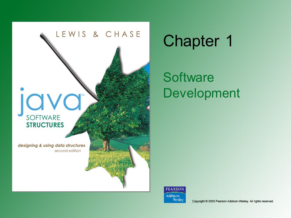 Chapter 1 Software Development