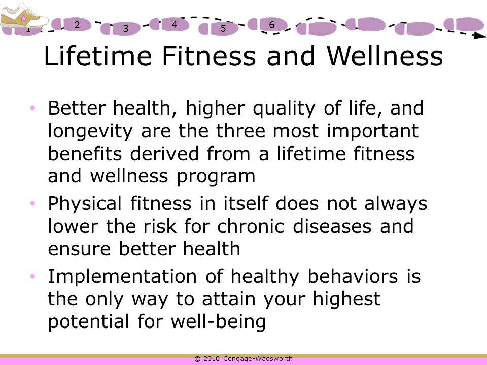 importance of lifetime fitness