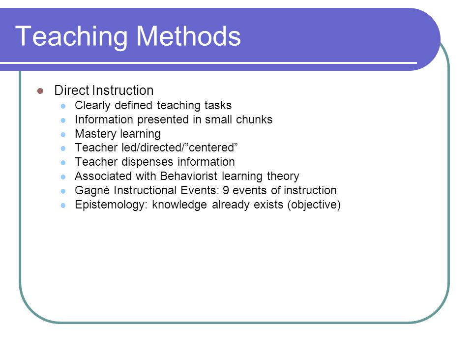 Planning Lessons Integrating Technology Teaching Methods