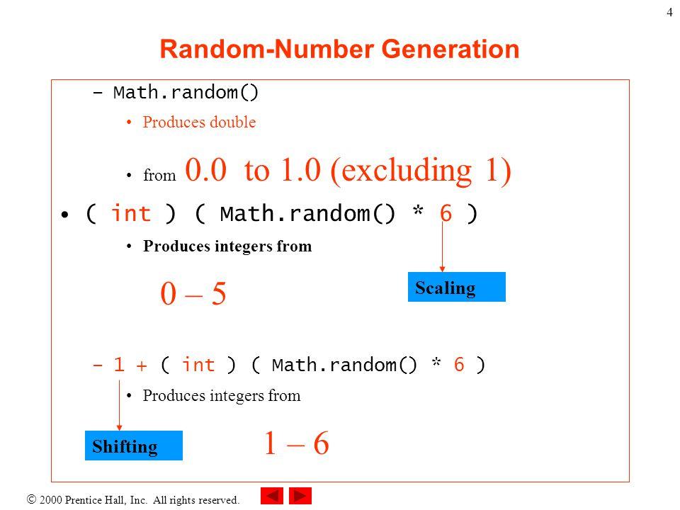 random number generator excluding values java
