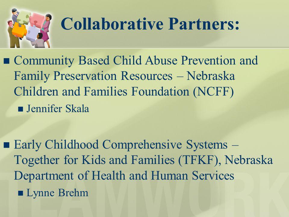Collaborative Partners: Community Based Child Abuse