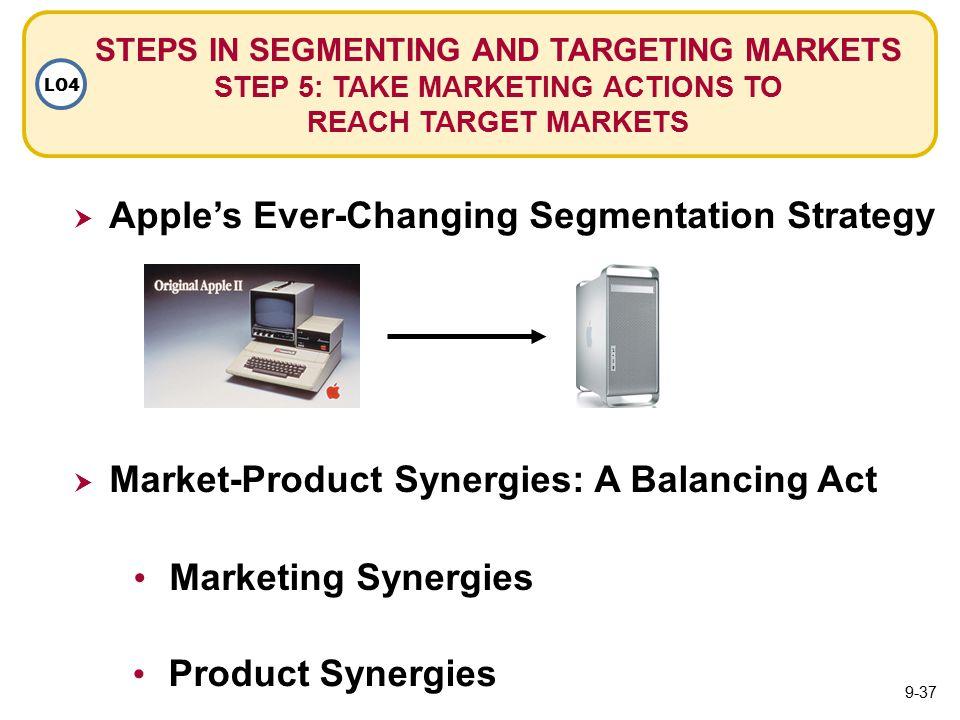 apple segmentation and target market