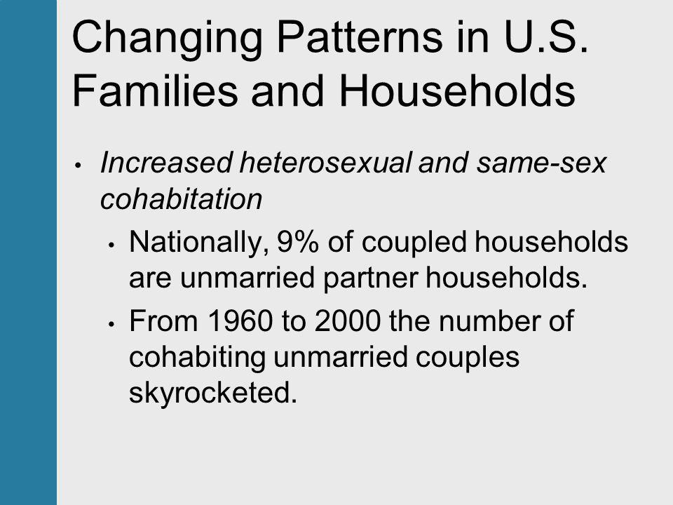 Heterosexual cohabiting family definition
