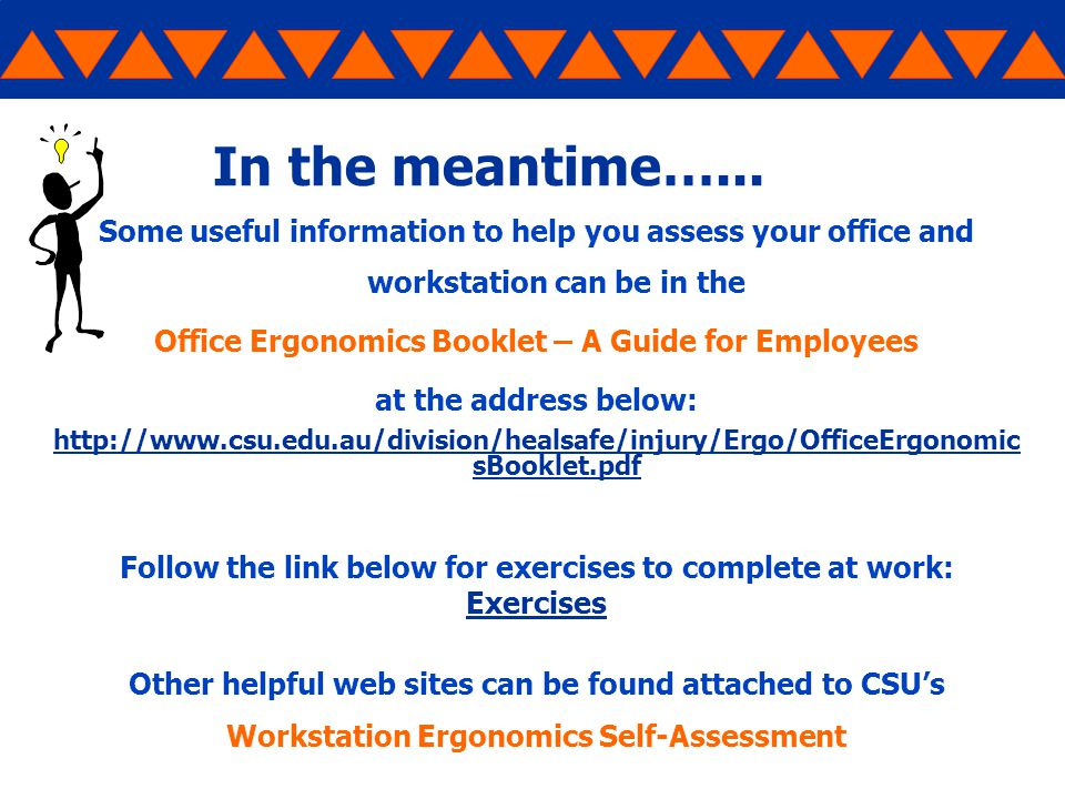 Workstation Ergonomics Make Your Work Area More Comfortable And