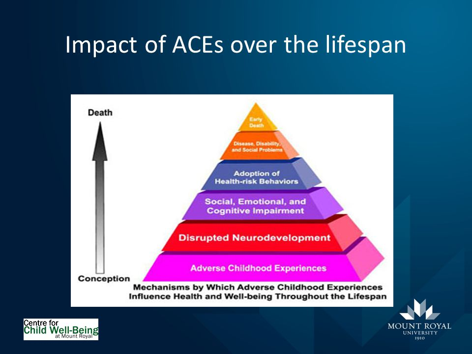 Impact of ACEs over the lifespan