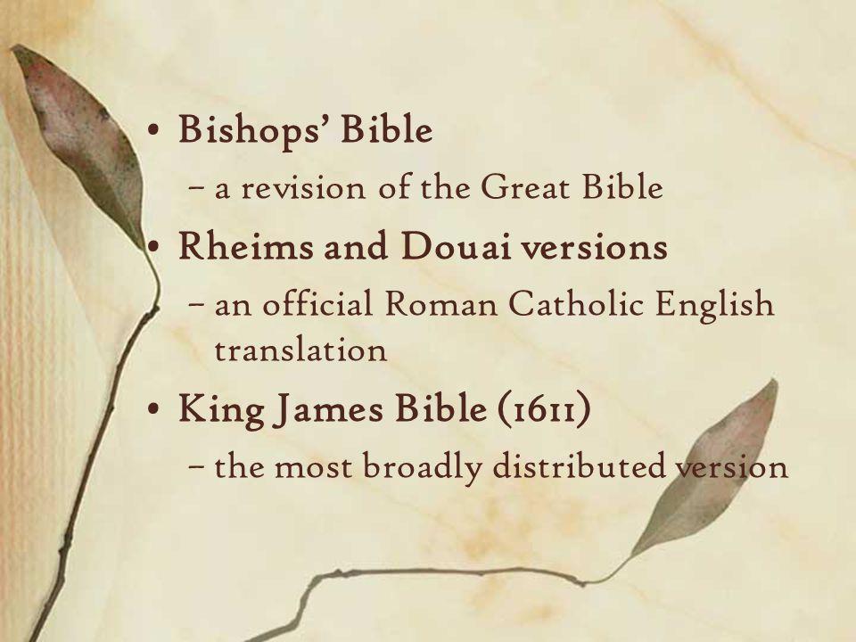 Bible in English Wycliffe to King James Junior C Jane Junior
