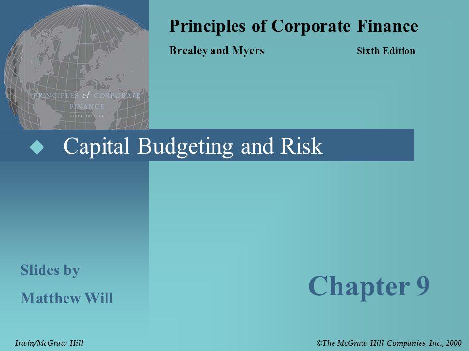 Principles Of Corporate Finance-slides