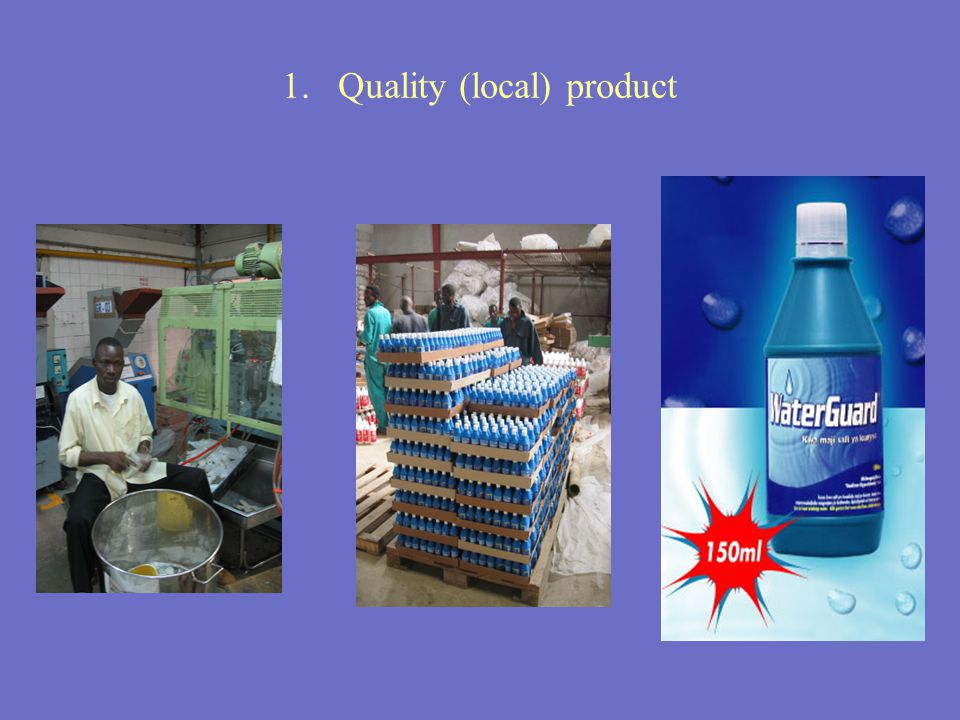 1. Quality (local) product