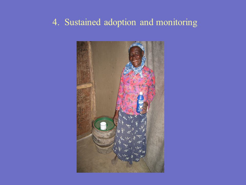 4. Sustained adoption and monitoring