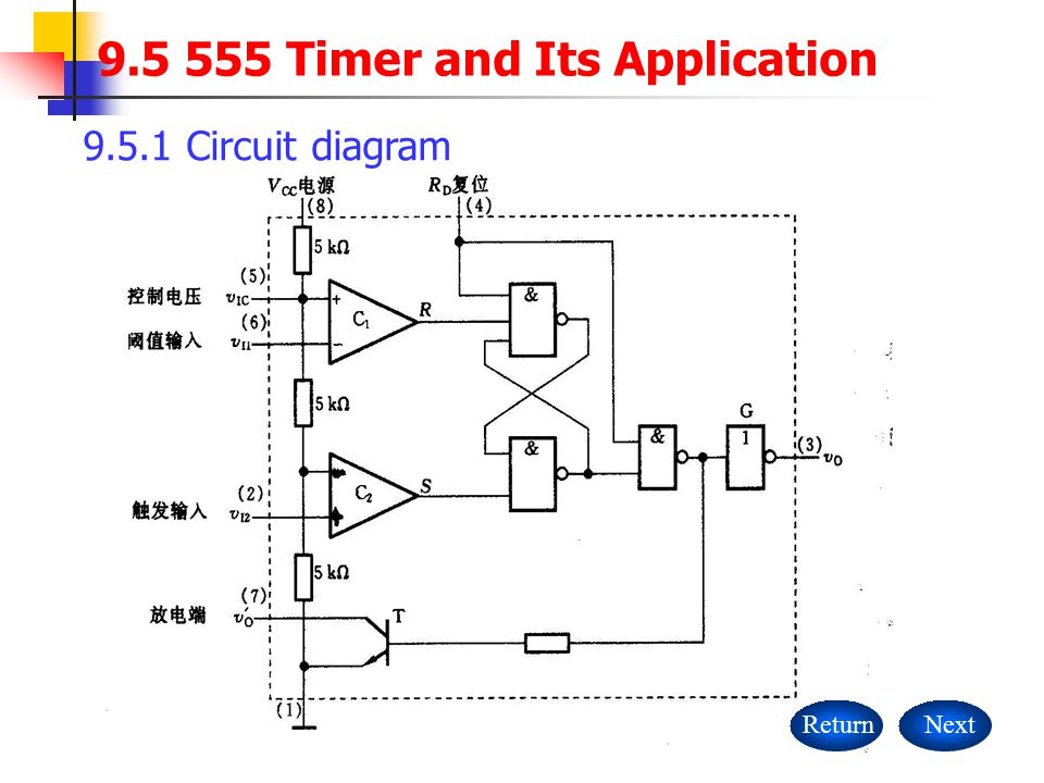 Timer Diagram Circuit | Timer And Its Application Circuit Diagram Returnnext Ppt Download