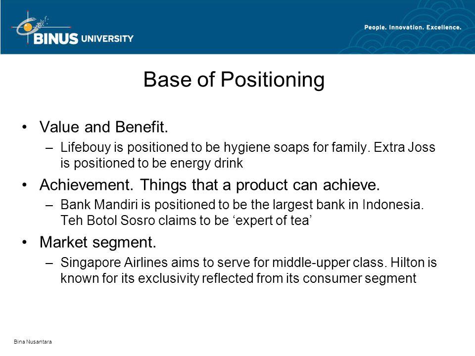 singapore airlines market segmentation