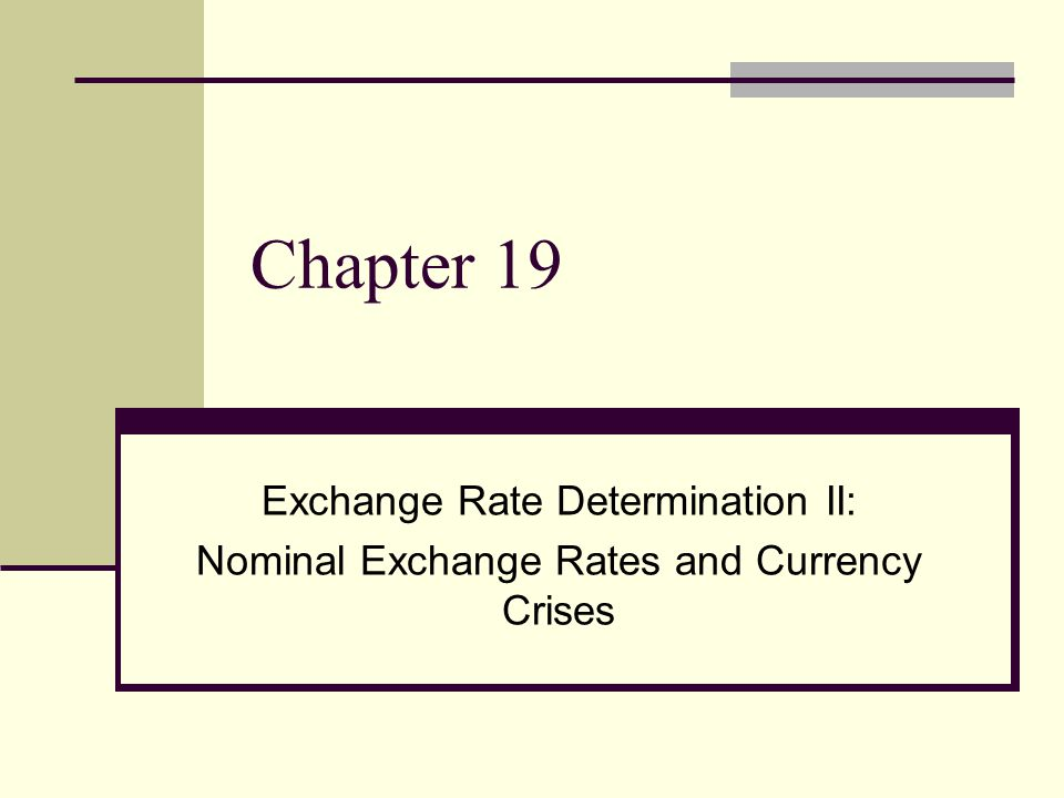 short and long term exchange rate determinants Exchange rates adjust to make goods and services cost the same everywhere an application of the law of one price to national price levels relative inflationary differences between one economy and another determine exchange rates over the long term.