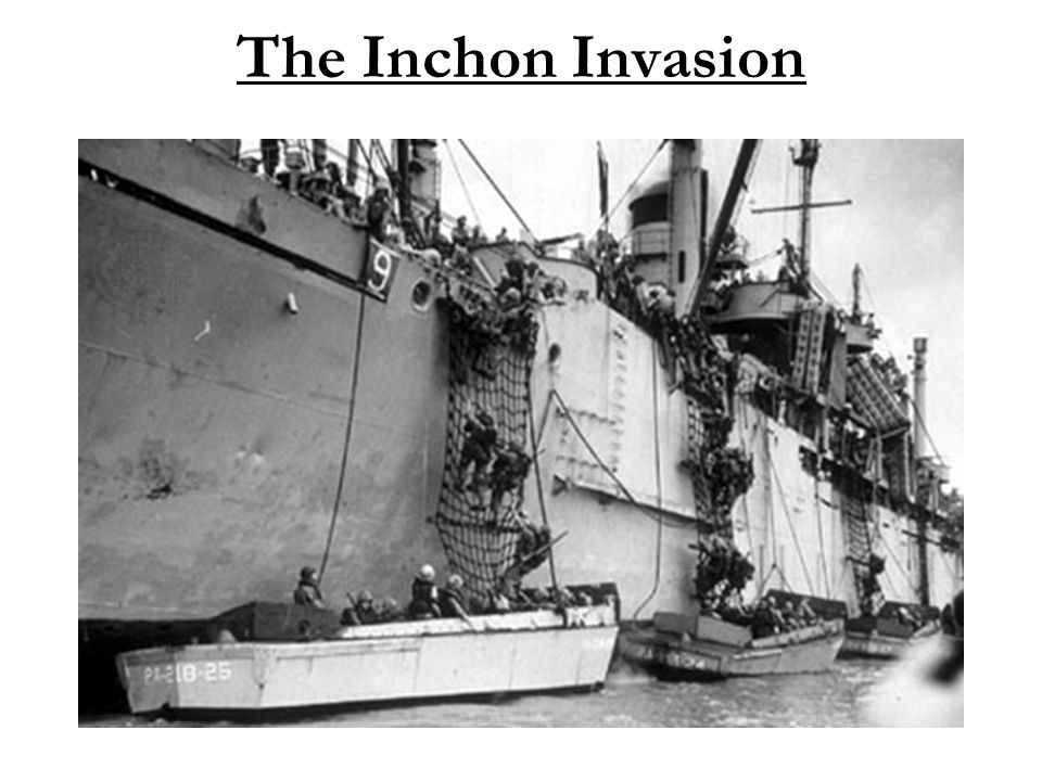 The Inchon Invasion