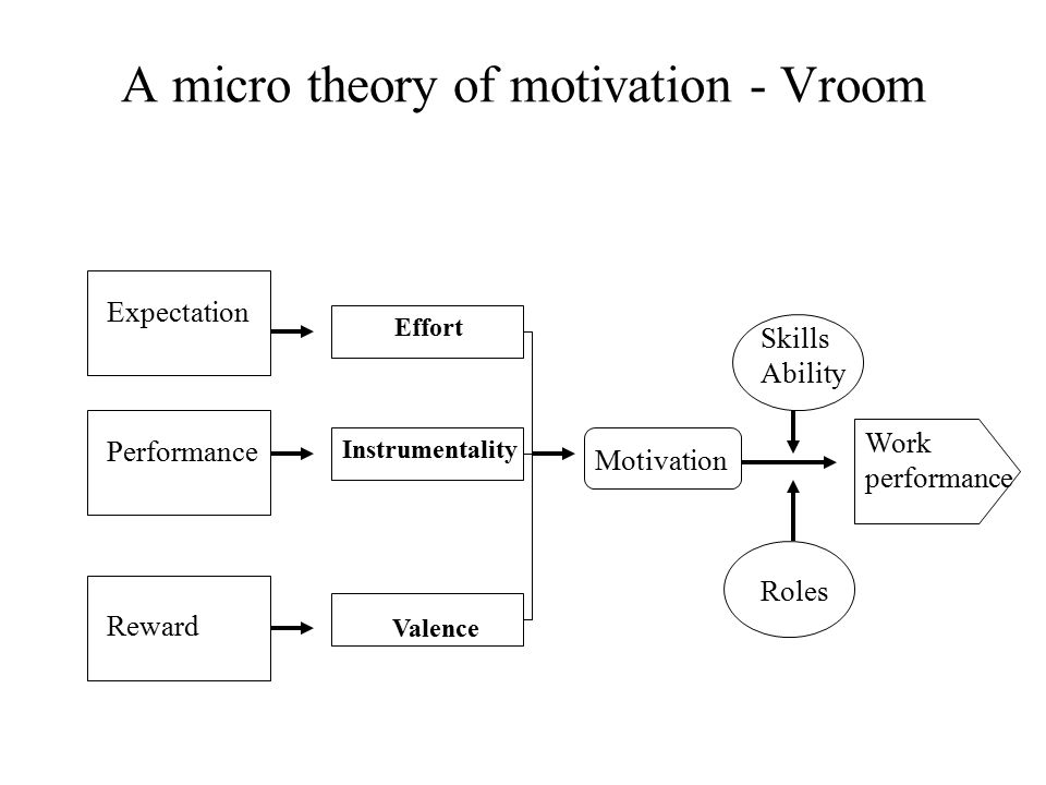 motivation theory of mcdonald Motivation to explain mcdonald's secrets in human resources management, a concept called expectancy theory should be introduced expectancy theory mainly talks about the law in the process of external goals driving people in the 1930s, a german psychologist k.