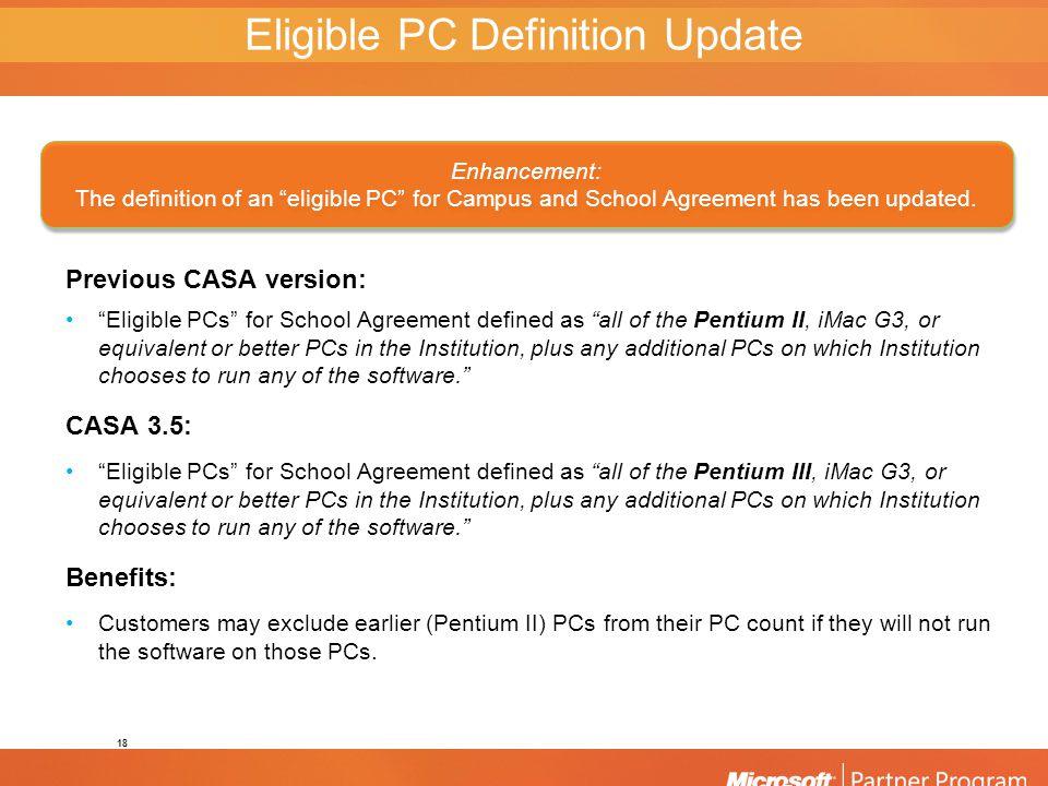 Campus School Agreement 35 Refresh Overview Microsoft