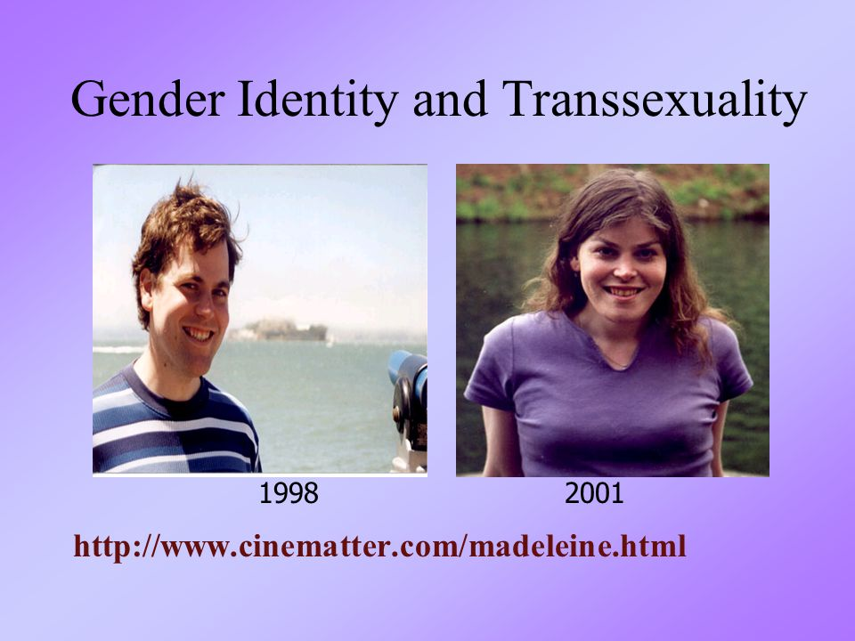 Gender Identity and Transsexuality
