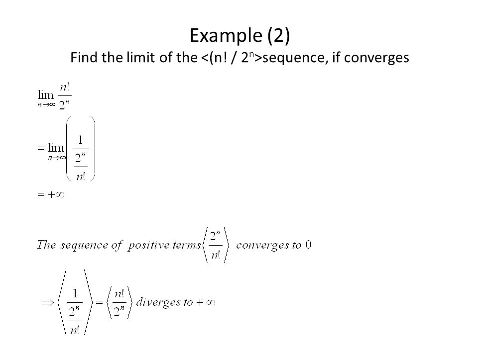 Examples of sequences that converge to 0