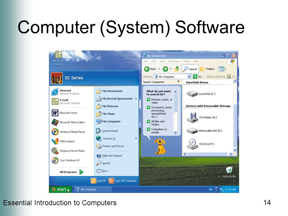 Essential Introduction to Computers 14 Computer (System) Software