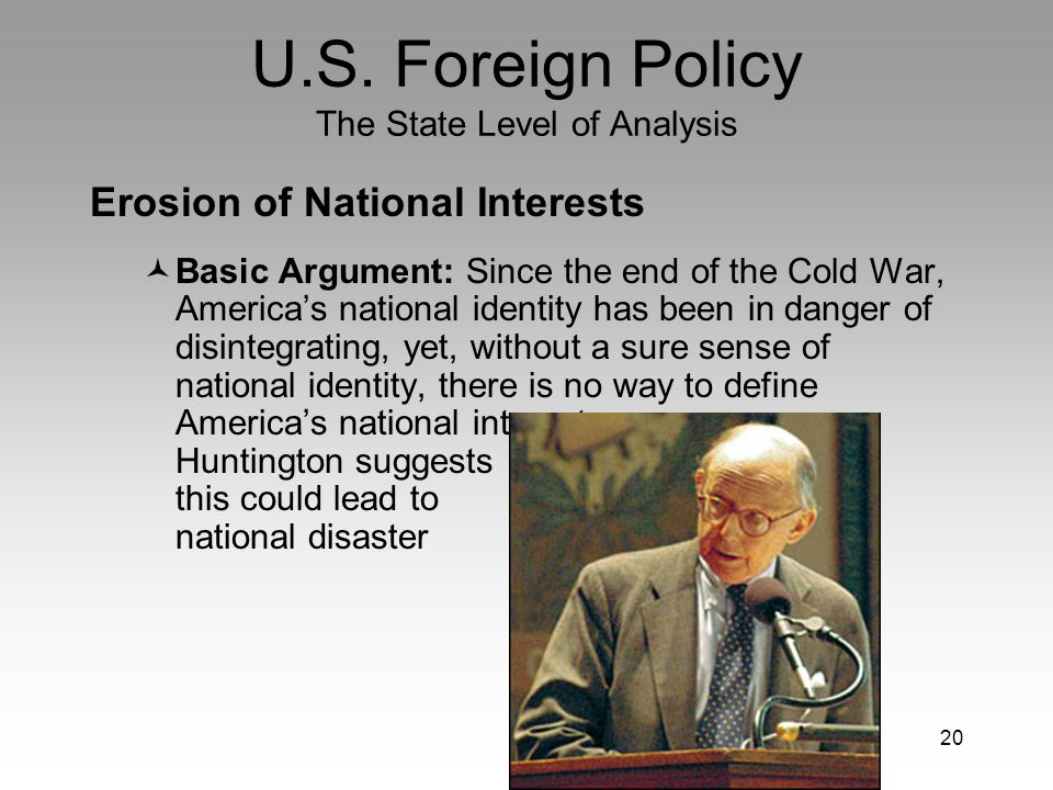 definition of national interest in foreign policy