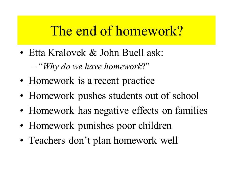 do we have homework