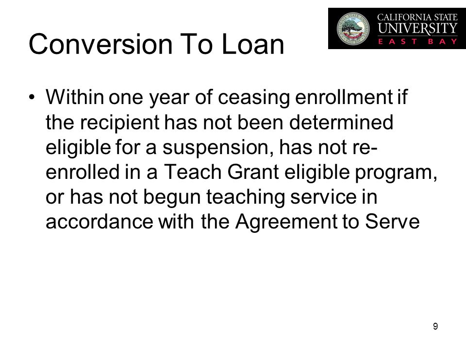 Teach Grant Overview Teach Grant Is Non Need Based Must File