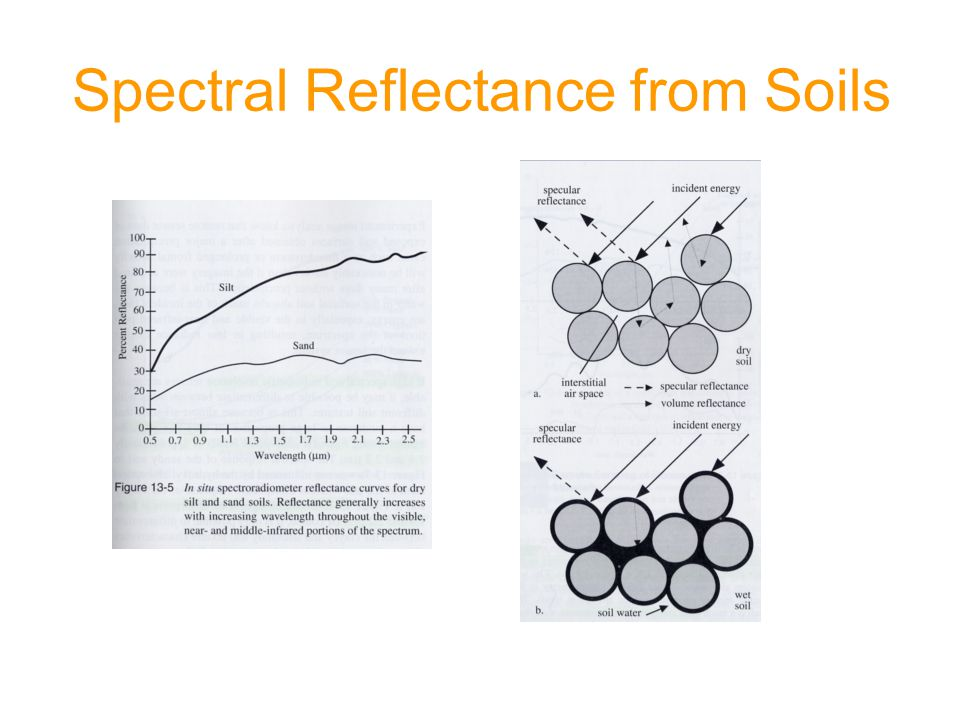 Spectral Reflectance from Soils
