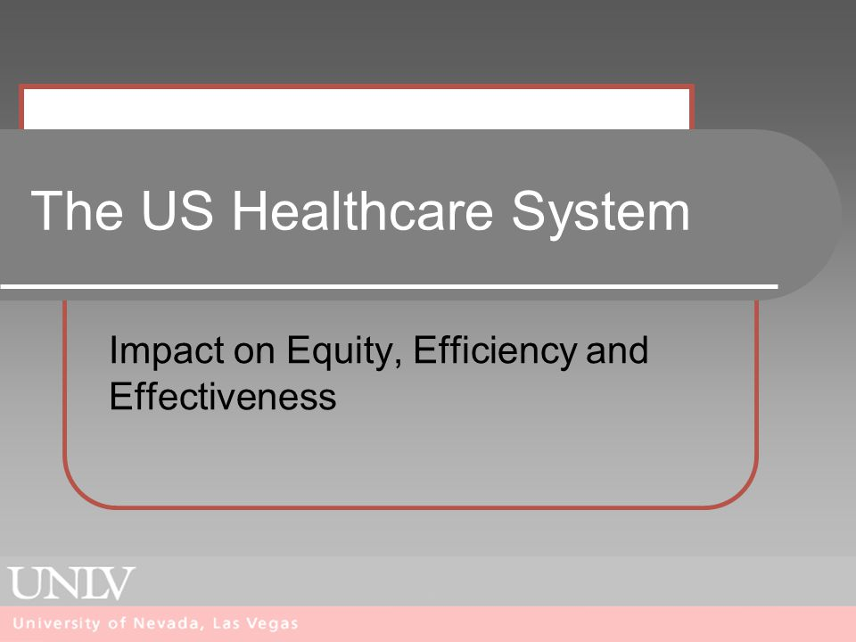 effectiveness of the us healthcare system