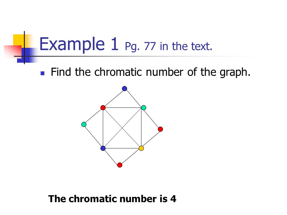 Section 2 3 Graph Coloring By Katie Lessard Colleen Raimondi