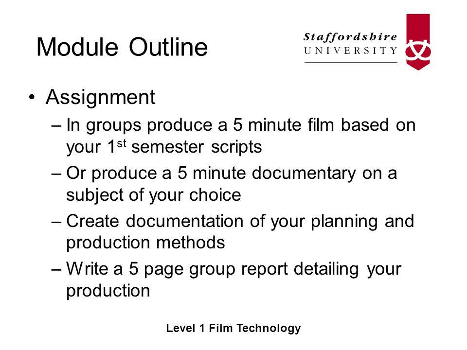 documentary film outline