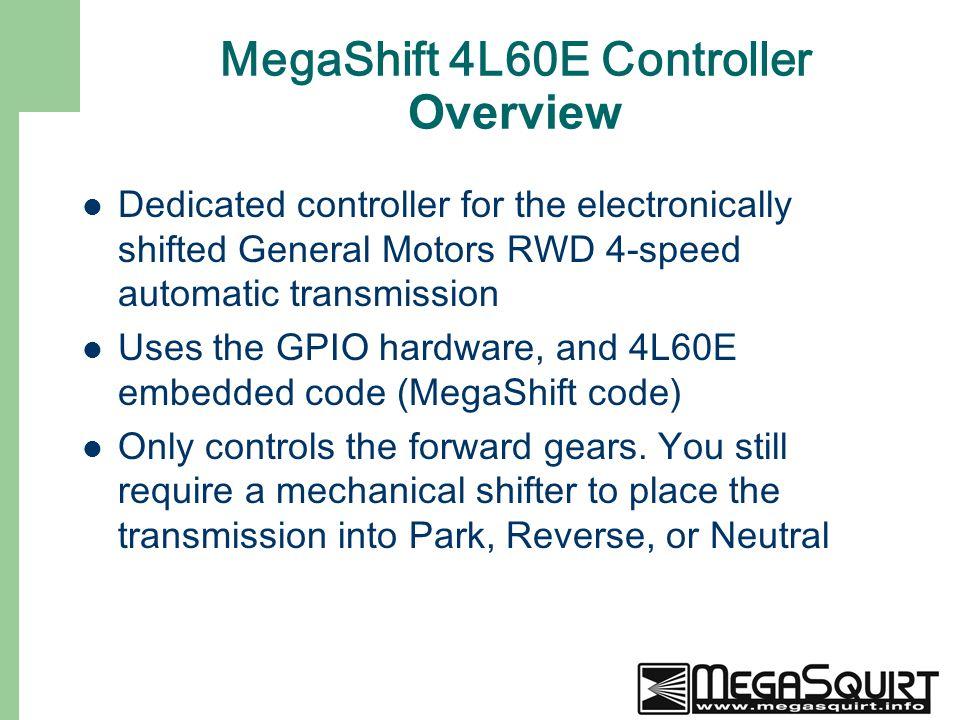 MegaSquirt and MegaSquirt Logo are trademarks of BG Soflex, LLC ...