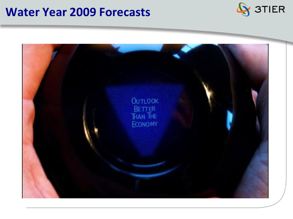 Water Year 2009 Forecasts