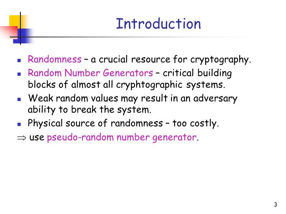 1 Analysis of the Linux Random Number Generator Zvi